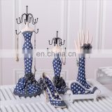 Height 32cm dots finger & hand Jewelry Holder & Jewelry Stand & Model Jewelry Display for necklace earring,ring