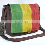 Rasta Messenger Bag
