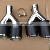 Hot sell carbon fiber muffler pipe/carbon exhaust tail pipe