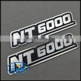 custom metal embossing aluminum nameplate label for appliance
