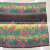 2014-2015 new leaf print voile scarf winter scarf cappa beach towel gradually changing color scarf