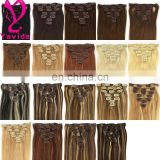 high quality P color clip on hair extensions wholesale supplier