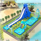 inflatable aqua park/ Large inflatable water park for events/inflatable large playground