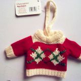 Toy knitting sweater