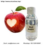 Red Apple Flavor Mix Nicotine Liquid Used For E-Liquid/ Vape Juice