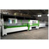 Automatic PUR hot glue wrapping machine for aluminum profile