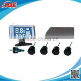 BIg LCD display car reverse parking sensor system with 4/6/8 sensors optional with long display distance