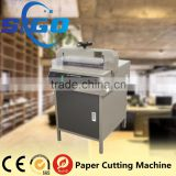 SG-450D+ custom shape paper cutter manual die cutter for paper                                                                                                         Supplier's Choice