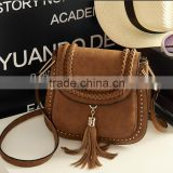 Women Bolsa Feminina Tassel Shoulder Bags Tote Faux Suede Messenger Hobo HandBag Tassel Shoulder Bag