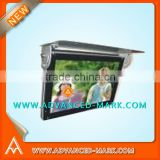 "Brand New 17"" Bus Diagonal Electric Roof LCD Monitor, L/W:16:9 , Power : 24V / 12V , Test OK"