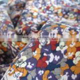 cupro fabric printed
