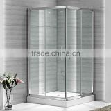 2014 aluminium alloy frame High quality best selling slidng square bathroom glass shower door