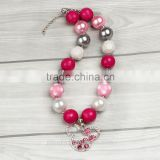 Bubble Gumball Chunky Children Necklace For Toddler Dress Up Baby Necklace
