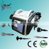 Popular 5 In 1 Vacuum Rf Cavitation Lipo Bipolar Rf Ultrasonic Liposuction Cavitation Machine/lipo Suction Machine/radio Frequency Facial Machine Body Contouring