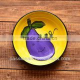 Custom Design Hand Made Ceramic Plate Model CP82353