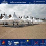 Factory price 850g/sqm PVC coated fabric roof cover pvc tarpaulin frame tent spa gazebo with seat
