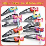 Soft pvc hair accessories with cute animal