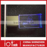 Custom 3D Laser Engraving Crystal USB Stick with Gift Box                                                                         Quality Choice