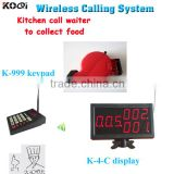 Queue Ticket Call Display System Wireless Numeric Keypad With Display Monitor and Ticket Dispenser
