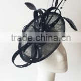 Fascinator hats,fascinator wholesale,sinamay fascinator,black fascinator,wedding fascinator