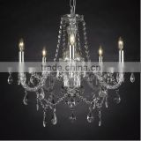 European lamps modern minimalist pastoral cozy living room chandelier, wrought iron restaurant retro Alice
