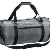 Foldable gym duffel bag for men & women with shoe bag