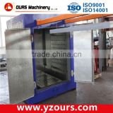 shot blasting machine for metal cleaning/rotary sanblaster for Metal Cleaning/ sandblasting machine