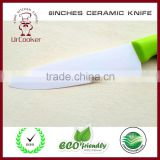 ceramic colourful knife ceramic coated knife kitchen ceramic knife