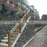 outdoor metal stair handrail for steps