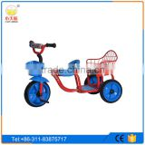 children tricycle two seat/twin baby tricycle