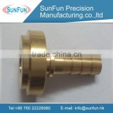 High pricision cnc brass flange bushing