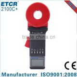 ISO EMC LVD ETCR2100C+ Clamp Earth Resistance Tester digital earth clamp tester