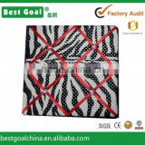 Zebra French memo board with red ribbon bulletin boards wooden photo display board