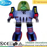 DJ-XT-82 halloween inflatable ET drive attack robot outdoor decoration halloween mask hot sale