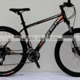 Wholesale mountain bike 24Speed aluminum alloy frame and suspension oil disc brake mountain bike / MTB bicycle