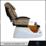 Functional convenient head part back rest leg rest seat setting comfortable luxury pedicure spa massage chair for nail salon