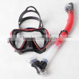 Big Eyes Evolution Crystal Custom dive snorkel and mask factory adult's diving set MS1109