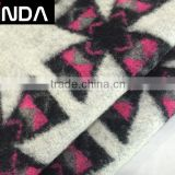 Yarn dyed wool acrylic polyester jacquard fabric for suits