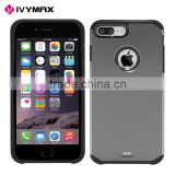 IVYMAX New release for iphone case hybrid hard back shockproof tough slim armor cover for iphone 7 plus                                                                         Quality Choice