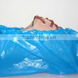 plastic shoe cover bag making machine