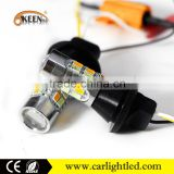 T20 Automotive Tail Lamp 7440 LED Turn Signal Light Canbus Warning Lights 3014 24 SMD Auto Strobe Bulbs