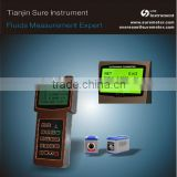 Low price high performance clamp on none Invasion battery powered RS232 handheld ultrasonic flow meter