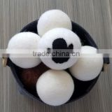 wool dryer ball,natural fabric softener, wash ball