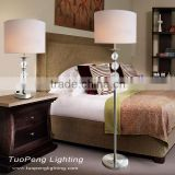 with bubble crystal ball Brushed Nickel Reading Lamps