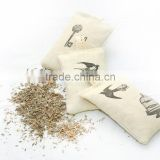 Organic French Dried Lavender/rose Buds scented cute embroidery sachet                                                                         Quality Choice