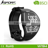 Wireless Charging E ink Paper Display Bluetooth Wrist Watch Pedometer