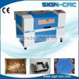 Crafts gift business card 4030 mini laser engraving cutting machine