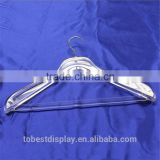 wholesale high-end acrylic sale plastic clothes hangers