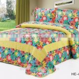 Spring Flower Patchwork Bedding Sets / Patchwork Quilts