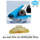 SHANGHAI ROCKY hot melt pressure sensitive adhesive HM PSA for HDPE TPO waterproof material